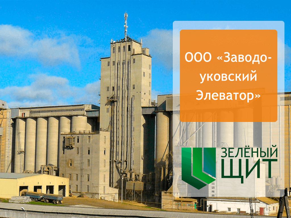 Огнезащитная обработка деревянных конструкций на объекте «Заводоуковский Элеватор»