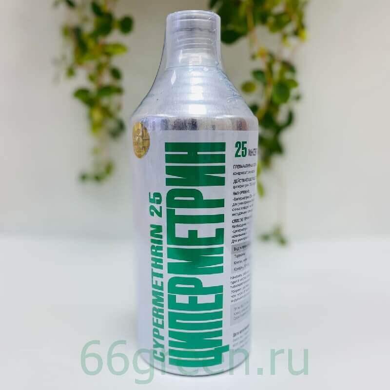 Средство от насекомых Циперметрин 25, 1 л